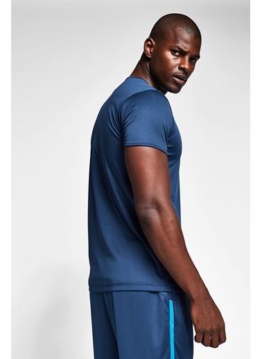 Lescon Safir Mavi Erkek T-Shirt 20S-1221-20N Mavi